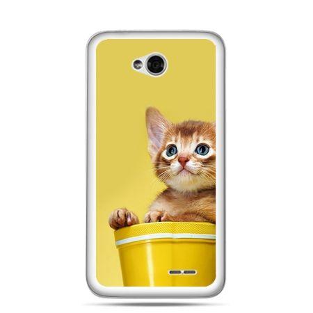 Etui na LG L70 kot w doniczce