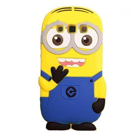 Galaxy Core Plus etui gumowe 3D minionki. PROMOCJA!!!