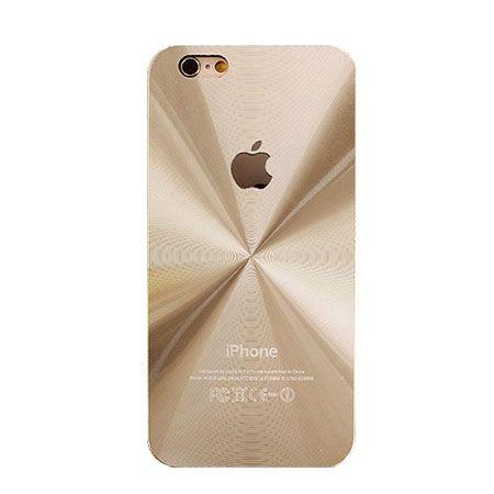 iPhone 4, 4s złote plecki aluminiowe efekt cd.