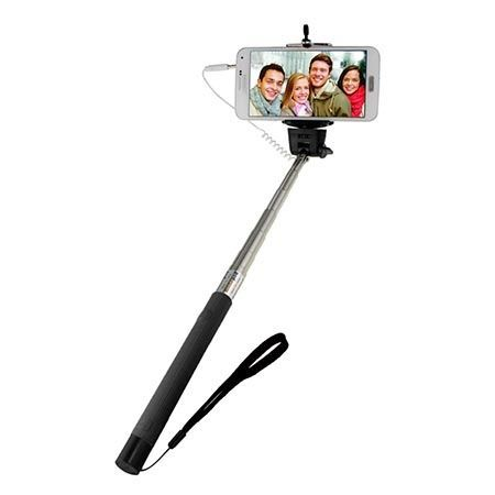 Kijek do Selfie monopod, wysięgnik z kabelkiem czarny.