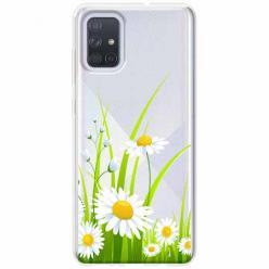 Etui na Samsung Galaxy A51 - Polne stokrotki.