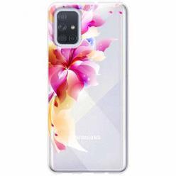 Etui na Samsung Galaxy A51 - Bajeczny kwiat.