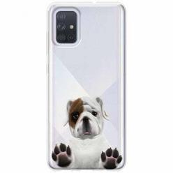 Etui na Samsung Galaxy A51 - Słodki szczeniaczek.