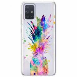 Etui na Samsung Galaxy A51 - Ananasowa eksplozja.