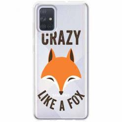 Etui na Samsung Galaxy A51 - Crazy like a fox.