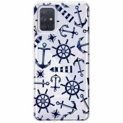 Etui na Samsung Galaxy A51 - Ahoj wilki morskie.