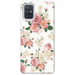 Etui na Samsung Galaxy A51 - Polne kwiaty