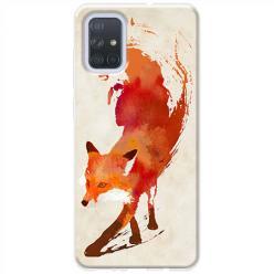 Etui na Samsung Galaxy A51 - Lis watercolor