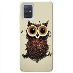 Etui na Samsung Galaxy A51 - Kawa sowa