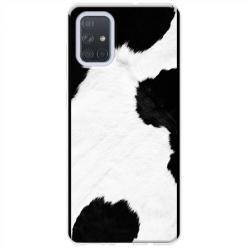 Etui na Samsung Galaxy A51 - Łaciata krowa