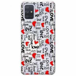 Etui na Samsung Galaxy A71 - Love, love, love…