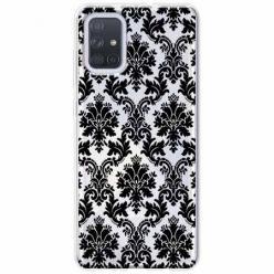 Etui na Samsung Galaxy A71 - Damaszkowa elegancja.