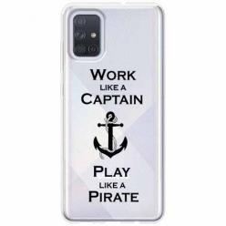 Etui na Samsung Galaxy A71 - Work like a Captain…