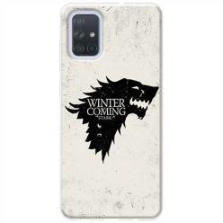 Etui na Samsung Galaxy A71 - Winter is coming Black