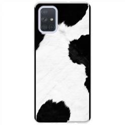 Etui na Samsung Galaxy A71 - Łaciata krowa