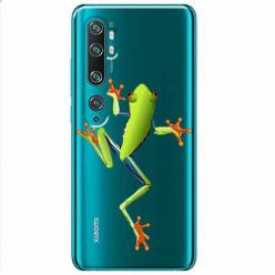 Etui na Xiaomi Mi Note 10 - Zielona żabka.