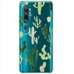 Etui na Xiaomi Mi Note 10 - Kaktusowy ogród.