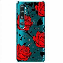 Etui na Xiaomi Mi Note 10 - Czerwone róże.
