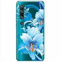 Etui na Xiaomi Mi Note 10 Pro - Niebieski kwiat północy.