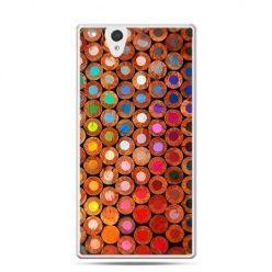 Etui na Sony Xperia Z kolorowe kredki