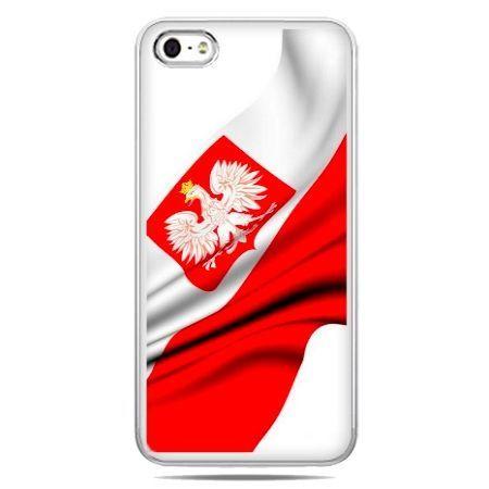 Etui na telefon z flagą polski