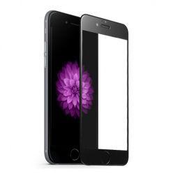 Hartowane szkło na cały ekran 3d iPhone SE 2020 - czarny.