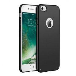 Matowe Etui na telefon iPhone SE 2020 - Slim MattE - Czarny.