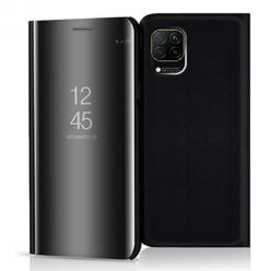 Etui na Huawei P40 Lite - Flip Clear View z klapką - Czarny.
