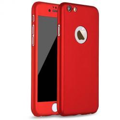 Etui na iPhone SE 2020 - Slim MattE 360 - Czerwony