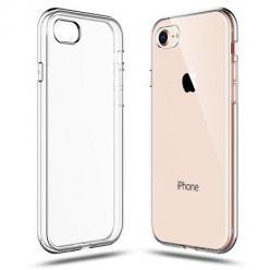 Etui na iPhone SE 2020 silikonowe crystal clear - bezbarwne.