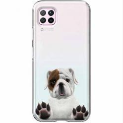 Etui na Huawei P40 Lite - Słodki szczeniaczek.