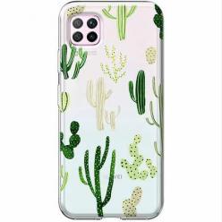 Etui na Huawei P40 Lite - Kaktusowy ogród.