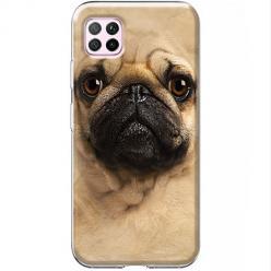Etui na Huawei P40 Lite - Pies Szczeniak face 3d