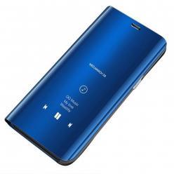 Etui na Galaxy S7 Edge Flip Clear View z klapką - niebieski.