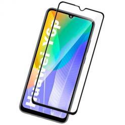 Huawei Y6P hartowane szkło 5D Full Glue - Czarny.