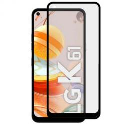 LG K61 hartowane szkło 5D Full Glue - Czarny.