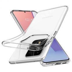 Etui na Samsung Galaxy S20 Ultra silikonowe crystal case - bezbarwne.
