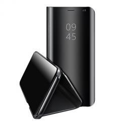 Etui na Huawei Y6P Flip Clear View z klapką - Czarny.