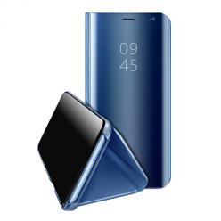 Etui na Samsung Galaxy A41 Flip Clear View z klapką - Niebieski.