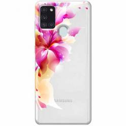 Etui na Samsung Galaxy A21s - Bajeczny kwiat.