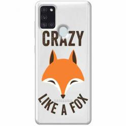 Etui na Samsung Galaxy A21s - Crazy like a fox.