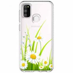 Etui na Samsung Galaxy M21 - Polne stokrotki.