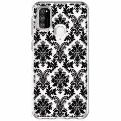 Etui na Samsung Galaxy M21 - Damaszkowa elegancja.