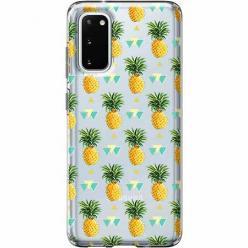 Etui na Samsung Galaxy S20 - Ananasowe szaleństwo.