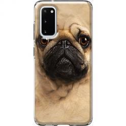 Etui na Samsung Galaxy S20 - Pies Szczeniak face 3d