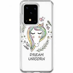 Etui na Samsung Galaxy S20 Ultra - Dream unicorn - Jednorożec.
