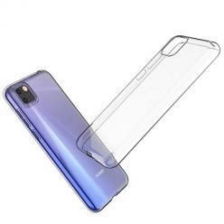 Etui na Huawei Y5P silikonowe crystal case - bezbarwne.
