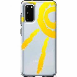 Etui na Samsung Galaxy S20 Plus - Wakacyjne słońce