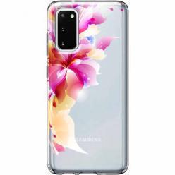 Etui na Samsung Galaxy S20 Plus - Bajeczny kwiat.
