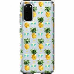 Etui na Samsung Galaxy S20 Plus - Ananasowe szaleństwo.